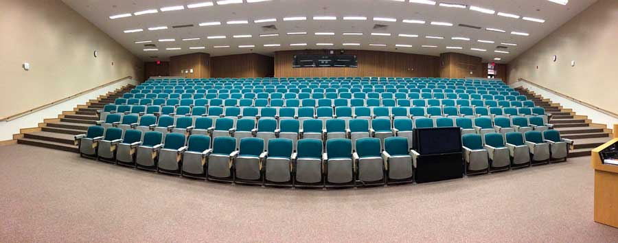 Revisar el auditorio