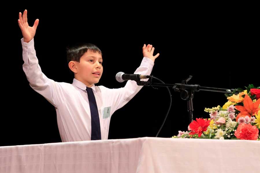 niño orador
